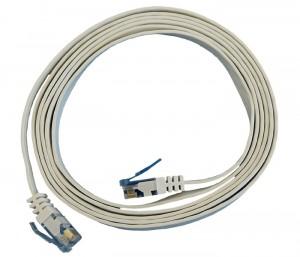 Cable plat RJ45